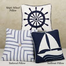 theme pillows nautical themed pillows nautical pillows affordable yet