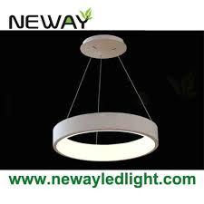 Decorative Pendant Light Fixtures Home Decor Circle Led Suspension Light Fixture Modern Pendant L