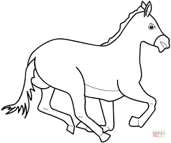 coloring sheets of a horse horses coloring pages free coloring pages