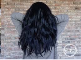 How To Dye Hair Two Colors Best 20 Blue Black Hair Color Ideas On Pinterest Navy Hair