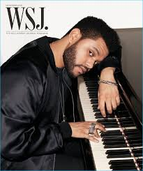what is the weeknds hairstyle the weeknd covers wsj magazine talks haircut