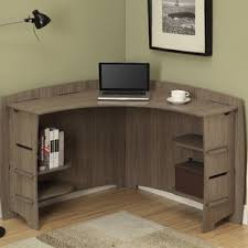 Desk In Corner Corner Desks You Ll Wayfair