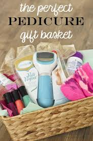 last minute gift baskets same pedicure gift basket idea basket ideas pedicures and ads