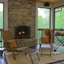 Screen Porch Fireplace by Photos Hgtv