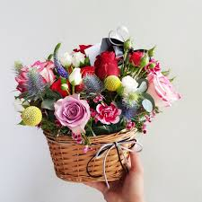 basket arrangements basket arrangements lou flower studio