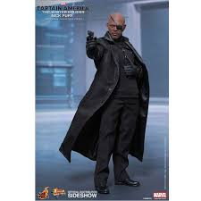 Nick Fury Halloween Costume Toys Marvel Captain America Winter Soldier Nick Fury 1 6