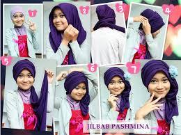 tutorial hijab pashmina untuk anak sekolah tutorial cara memakai jilbab pashmina modis dan menawan