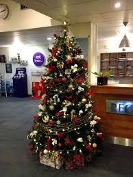 brown christmas tree image corporate christmas tree hire florist limerick flowers forever