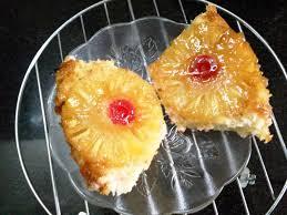 easy eggless pineapple upside down cake sakas aahaar