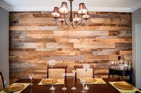 Dining Room Accent Wall Red Accent Wall Dining Room Rectangle Dark Brown Wooden Table