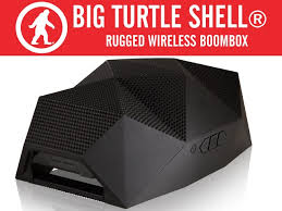 Rugged Wireless Speaker The Big Turtle Shell Rugged Wireless Boombox U0026 Power Bank By