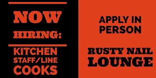 rusty nail lounge home canton michigan menu prices