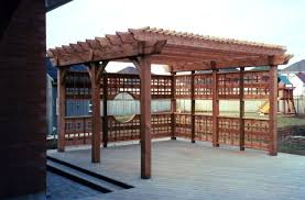 Free Pergola Plans And Designs by Build To Suit Pergola Downloadable Woodworking Plan Norwegian
