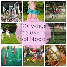Backyard Birthday Ideas 20 Clever Ways To Use A Pool Noodle Pool Noodles Noodle And