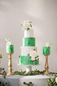 wedding cake greenery glamorous greenery wedding inspiration the magazine