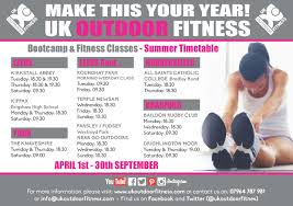 outdoor bootcamp fitness classes uk outdoor fitness