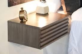Nightstand Bookshelf Furniture How To Design Good Floating Nightstand For Bedroom