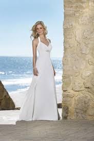 new arrival halter court train chiffon casual beach wedding dresses 731376556586237 jpg