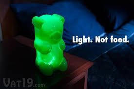 gummylamp the gummy bear nightlight