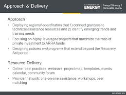 eere energy gov outline goals u0026 principles approach u0026 delivery
