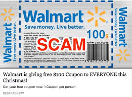 free gift card free 100 or 1 000 walmart gift card scam