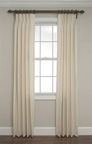 calico pinch pleated drapes