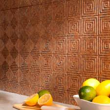 Fasade  In X  In Miniquattro PVC Decorative Backsplash Panel - Backsplash panel