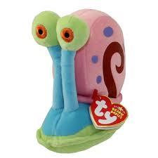ty beanie baby gary spongebob squarepants 5 inch bbtoystore