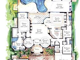 House Plans With Courtyard by Design Ideas 27 Luxury Home Plans Luxury House Plans Tuscan