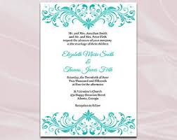 Blank Wedding Invitations Blank Wedding Invitations Templates Blue Fall Wedding Invitations