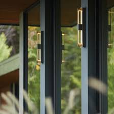 Hubbardton Forge Wall Sconces Axis Large Led Outdoor Sconce Hubbardton Forge