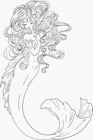 beautiful mermaid coloring pages printable coloringstar