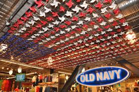 Flag Store Old Navy Flagship Store Interiors Notable Sculptural Elements And