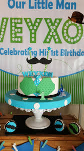 Little Man 1st Birthday Decorations Theme My Little Man U2013 Its More Than Just A Party