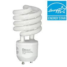 100w cfl light bulbs maxlite 100w equivalent soft white 2700k spiral cfl light bulb
