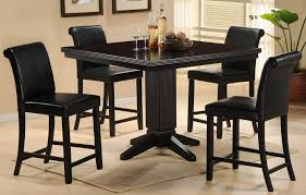 papario nook counter height dining room set from homelegance 5351