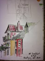 don s diversion mt tremblant sketches thanksgiving weekend 2013