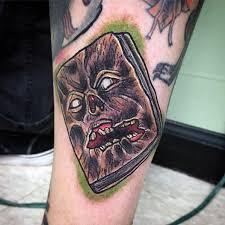 simple evil tattoo a simple evil dead tattoos of face golfian com