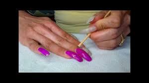 long nails easy nail art youtube