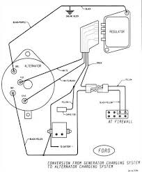 ford alternator wiring diagram internal regulator circuit diagram