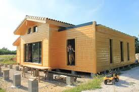 maison ossature bois dans le tarn sarl ambiances bois concepts