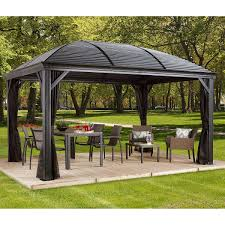 Outdoor Patio Gazebo 12x12 by Outdoor Structures Costco