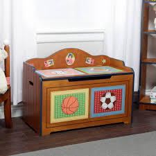 Free Toy Box Designs by Fantasy Fields Little Sports Fan Toy Chest Hayneedle