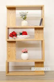 longitude bookshelf room divider oak veneer shelf u0026 cabinet