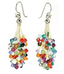 wire lace confetti cascade wirelace earrings tassels kit
