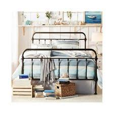 Metal Bed Frame Headboard Epic Metal Bed Frame With Headboard And Footboard M89 About