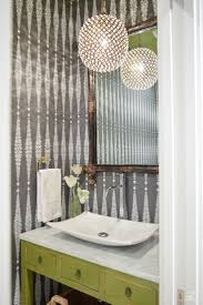 Best Powder Rooms Images On Pinterest Bathroom Ideas - Powder room bathroom