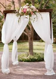 wedding arches los angeles floral setting flowers outdoor garden real