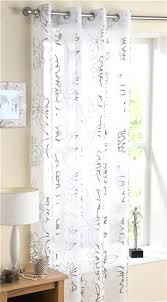 Silver Foil Curtains White And Silver Curtains Hpianco