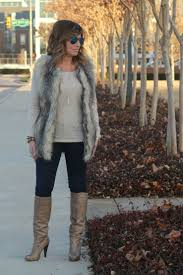 target womens boots with fur fur vests
